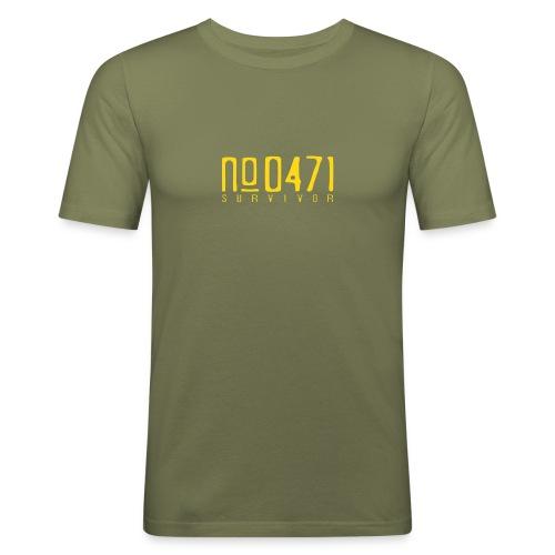 0471-T-Shirt - Männer Slim Fit T-Shirt