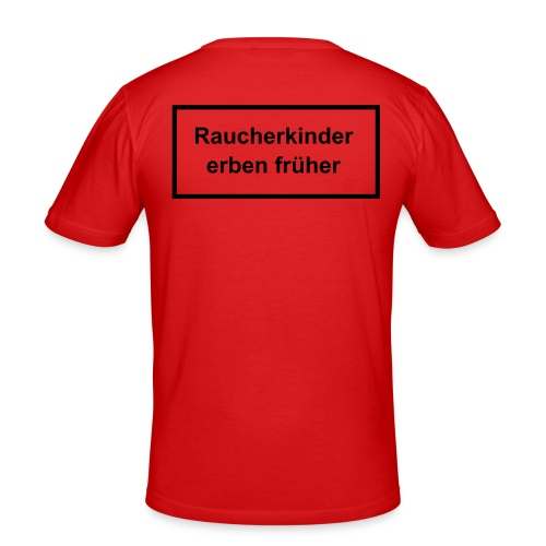 Raucherkind - Männer Slim Fit T-Shirt