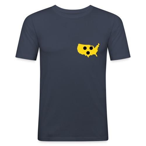 USA Blindness - Männer Slim Fit T-Shirt