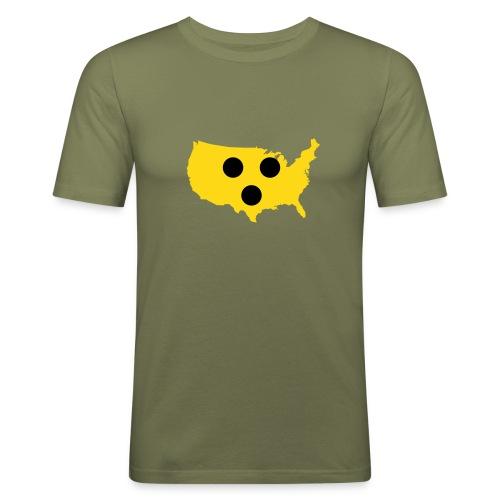 T-Shirt - Blinded - Männer Slim Fit T-Shirt