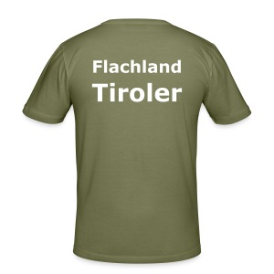 T-Shirt Flachlandtiroler - Männer Slim Fit T-Shirt