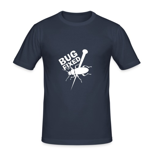 t-shirt BUG - Männer Slim Fit T-Shirt