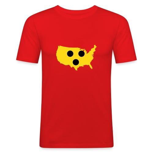 Blindes Amerika - Männer Slim Fit T-Shirt