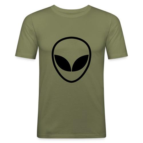 alien- shirt - Männer Slim Fit T-Shirt