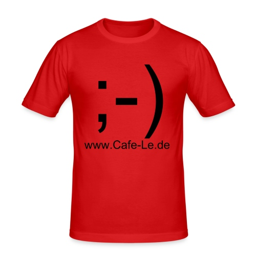 Smilie - Männer Slim Fit T-Shirt
