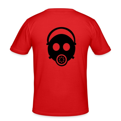 C4S - Mask - Männer Slim Fit T-Shirt