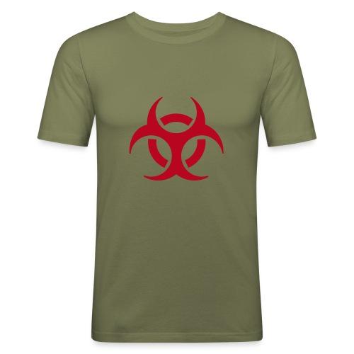 Biohazard Shirt - Männer Slim Fit T-Shirt