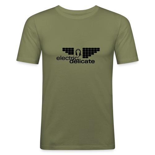 Slim Fit T-Shirt Herren - Männer Slim Fit T-Shirt