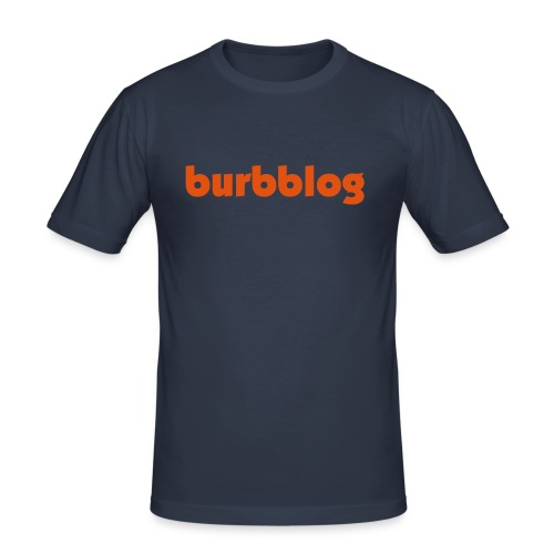 burbblog - Männer Slim Fit T-Shirt