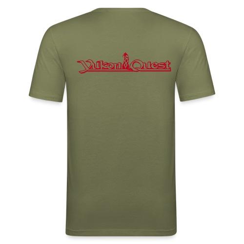 Yukon Quest  OSs Slim Fit Shirt (v+h) - Männer Slim Fit T-Shirt