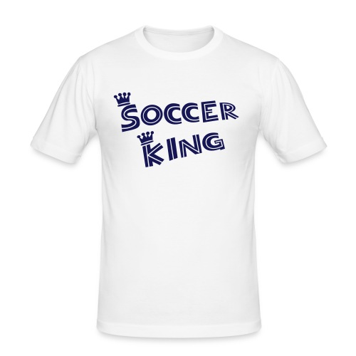 Soccer King - Männer Slim Fit T-Shirt