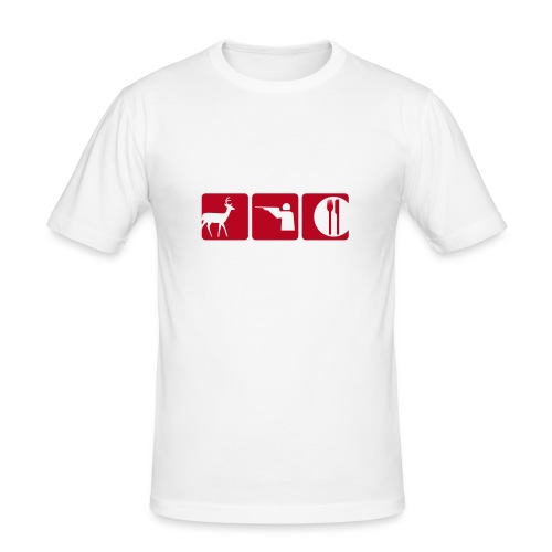 Bim Bam Tot - Männer Slim Fit T-Shirt
