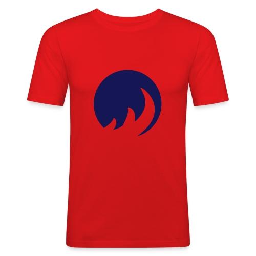 orange shirt - Männer Slim Fit T-Shirt