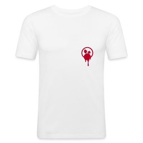 STAMMHEIM: Heartbleed - Männer Slim Fit T-Shirt