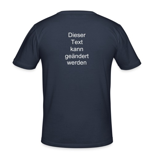 sch slim fit - Männer Slim Fit T-Shirt