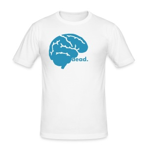 'braindead' - Men's Slim Fit T-Shirt