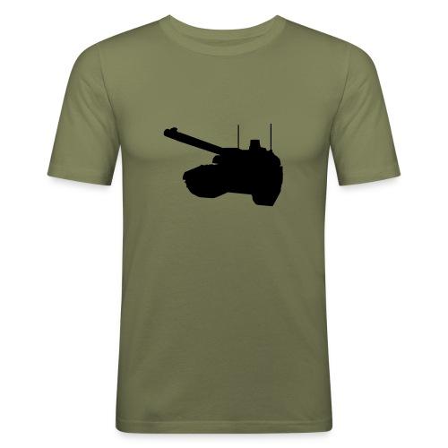 Panzer Blitz - Men's Slim Fit T-Shirt