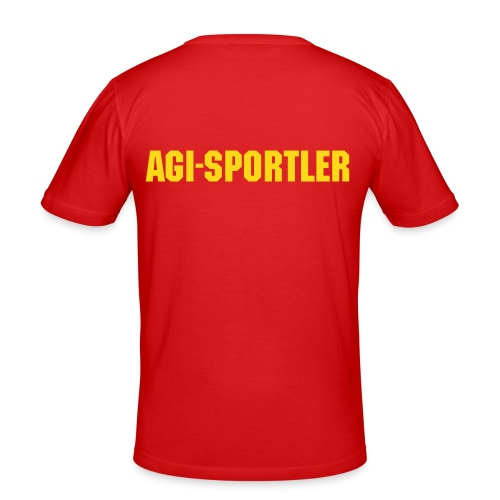 Agi-Sportler - Männer Slim Fit T-Shirt
