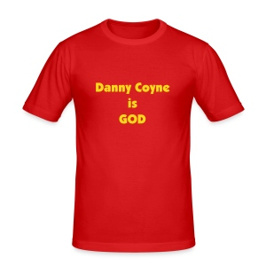 Is God: Danny Coyne - Men's Slim Fit T-Shirt