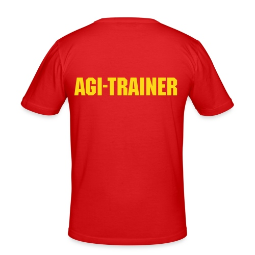 Agi-Trainer - Männer Slim Fit T-Shirt