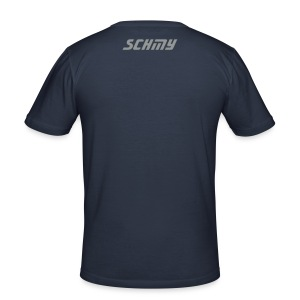 Schmy T Blue - Men's Slim Fit T-Shirt