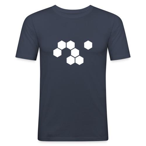 PLYGONE Flock - Männer Slim Fit T-Shirt