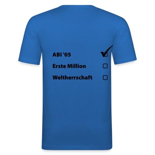 Jungs-T-Shirt Masterplan - Männer Slim Fit T-Shirt