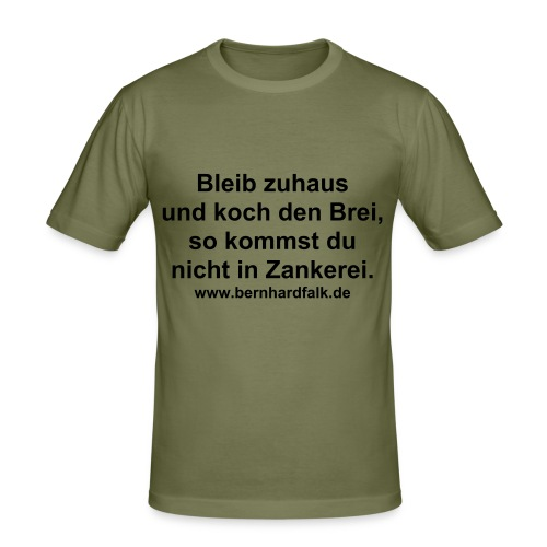 Zankerei - Männer Slim Fit T-Shirt