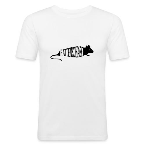 Slim Fit Shirt Rattenscharf - Männer Slim Fit T-Shirt