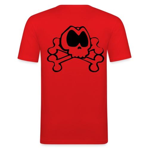 T-shirt tête de mort - T-shirt près du corps Homme