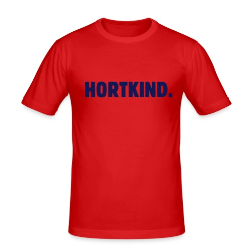 Hortkind, das Leben ist hart - Männer Slim Fit T-Shirt