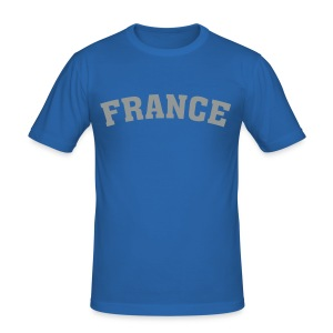 France - Männer Slim Fit T-Shirt