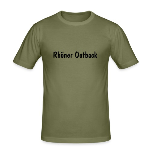 Outback - Shirt - Männer Slim Fit T-Shirt