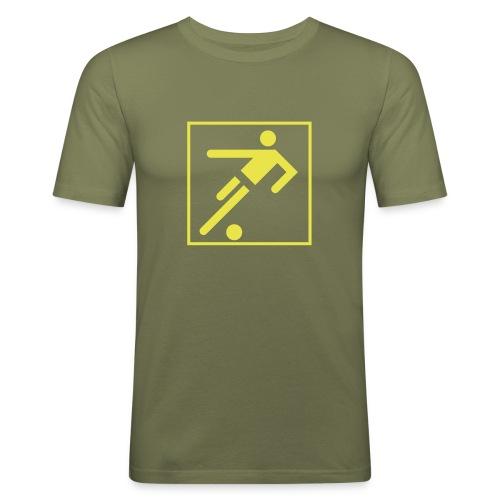 Symbol - Männer Slim Fit T-Shirt