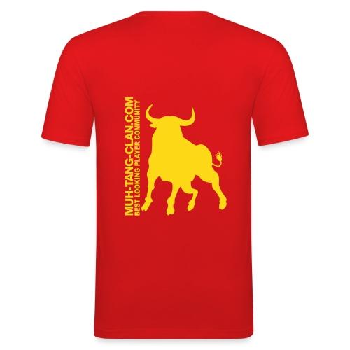 Muh-Union-Shirt - Männer Slim Fit T-Shirt