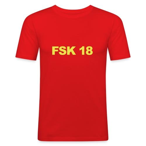 FSK 18 !!! - Männer Slim Fit T-Shirt