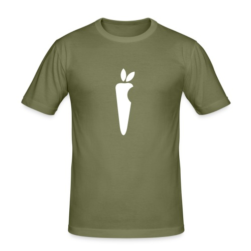 big carrot - Männer Slim Fit T-Shirt