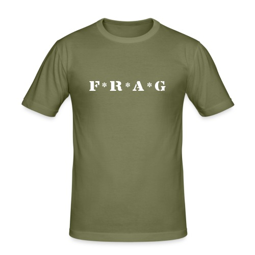F*R*A*G - Männer Slim Fit T-Shirt