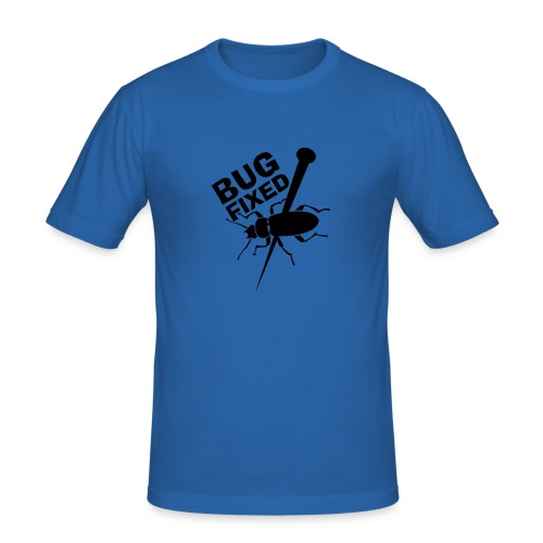 BUG fixed! - Männer Slim Fit T-Shirt