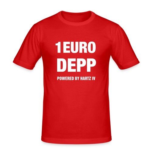 Fun T-Shirt No: 8 - Männer Slim Fit T-Shirt