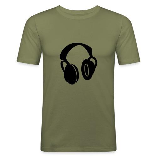 Tee shirt marron et noir 73 - T-shirt près du corps Homme