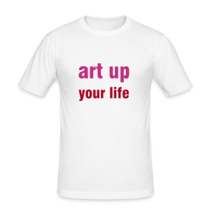 art up men - Männer Slim Fit T-Shirt