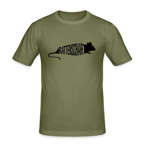 T-shirt Scharf - Männer Slim Fit T-Shirt