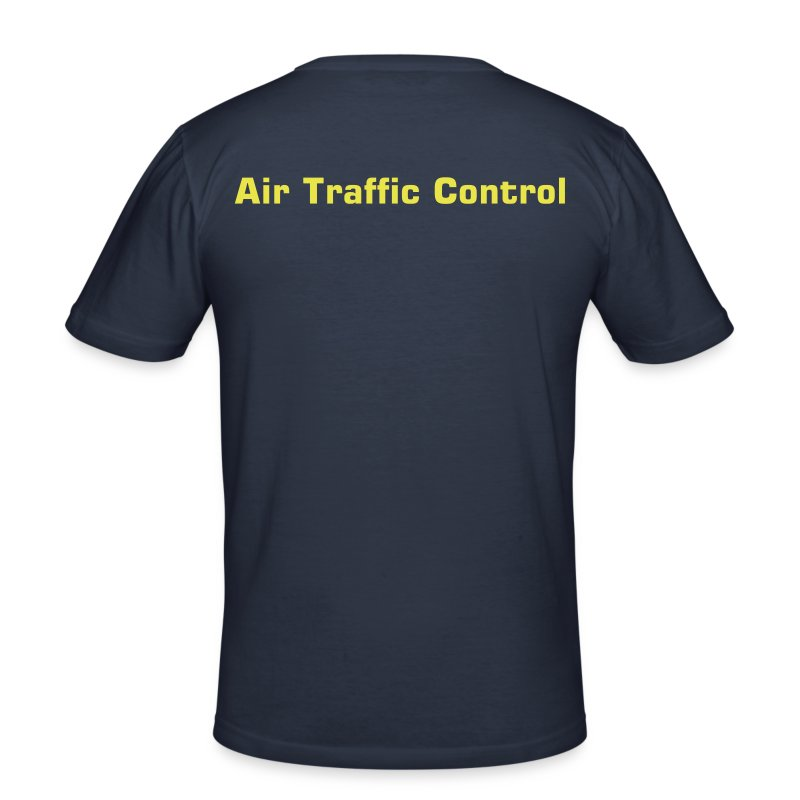 Air Traffic Control T-Shirt, dark navy - Männer Slim Fit T-Shirt
