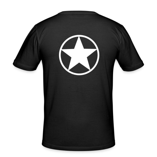 Wr ist geil... - Männer Slim Fit T-Shirt