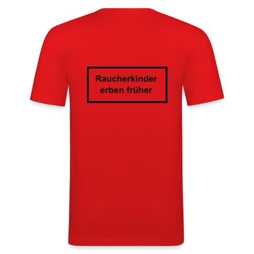 Raucherkinder - Männer Slim Fit T-Shirt
