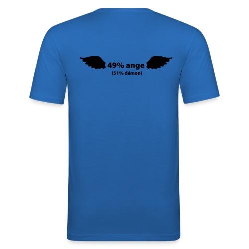 49 % ange & 51 % demon - T-shirt près du corps Homme