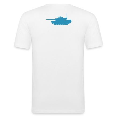 Queerschläger - Männer Slim Fit T-Shirt