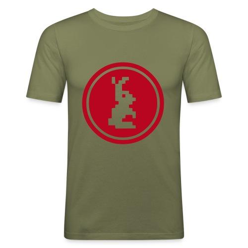 HASE - Männer Slim Fit T-Shirt