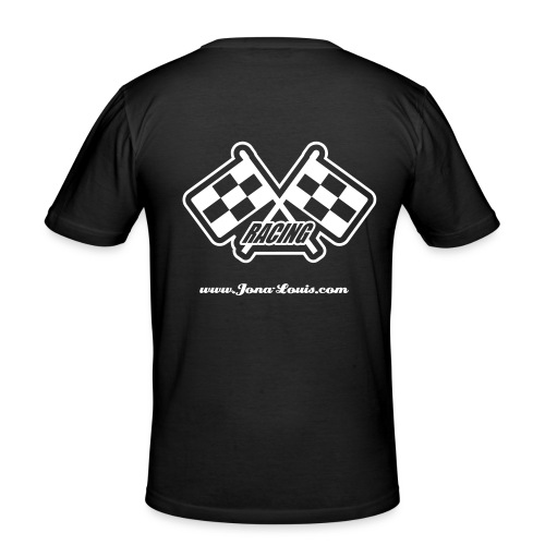 Jona Louis - Racing - black - Männer Slim Fit T-Shirt